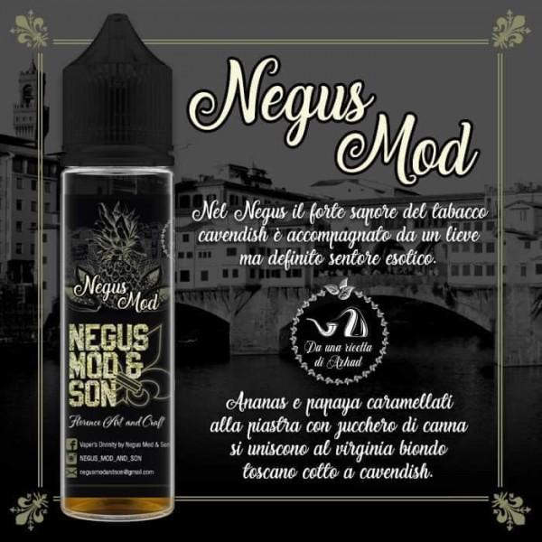 Negus Mod & Son nuovi aromi scomposti 20ml nati da ricette di Azhad's, prova il Negus Mod