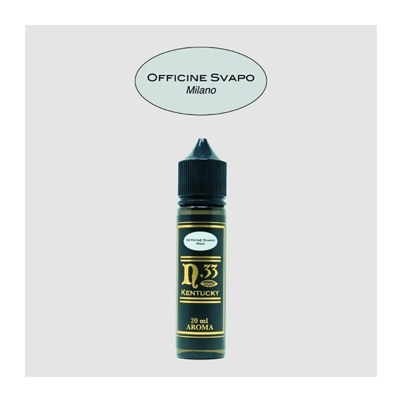 Officine Svapo Kentucky Aroma 20 ml, un tabaccoso gusto sigaro da svapare di guancia