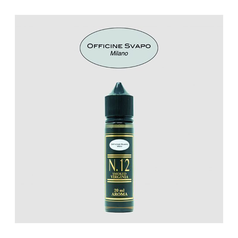 Officine Svapo Smoked Virginia Aroma 20ml con una miscela di tabacchi Virginia bright