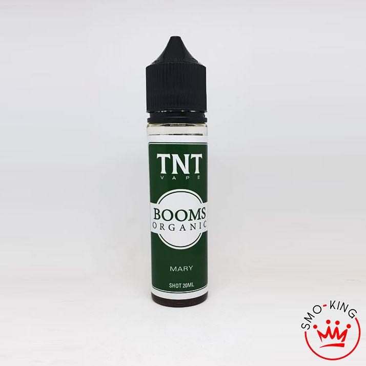Il TNT Vape Booms Organic Mary è un aroma a tripla concentrazione al Booms e sapore di Marijuana