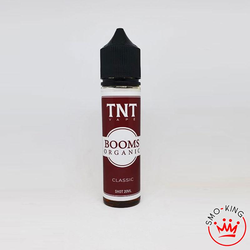 Tnt vape Booms organic aroma 20ml, la versione organica del Booms