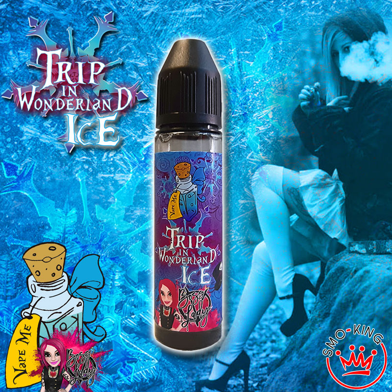 Iron Vaper Trip in Wonderland Ice iron vaper trip in wonderland ice