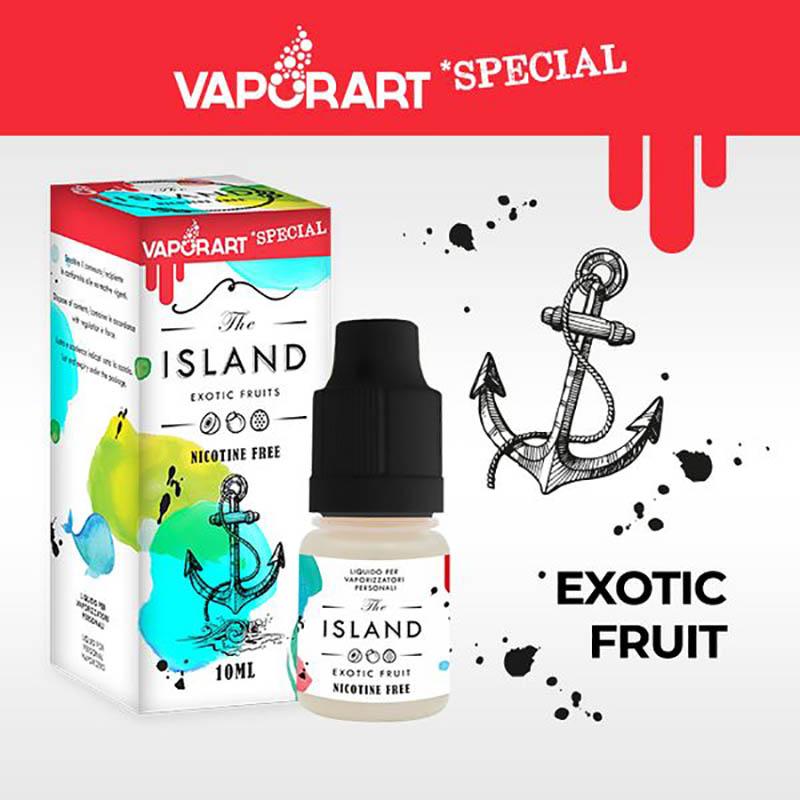 Vaporart Island 10 ml Liquido Pronto Nicotina