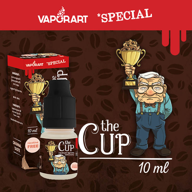 Vaporart The Cup 10 ml Liquido Pronto Nicotina