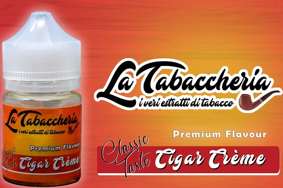 Liquido tabacco e crema sigaretta elettronica