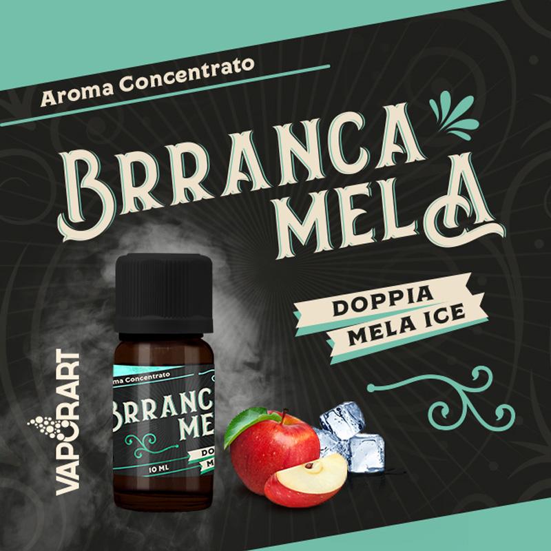 Vaporart Aroma Concentrato Brranca Mela 10ml Liquido per Sigaretta Elettronica