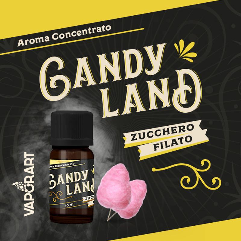 Vaporart Aroma Concentrato Candy Land 10ml Liquido per Sigaretta Elettronica