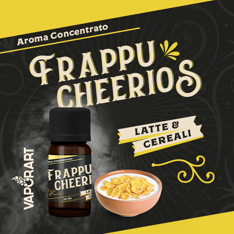 Vaporart Aroma Concentrato Frappu Cheerios 10 ml Liquido per Sigaretta Elettronica