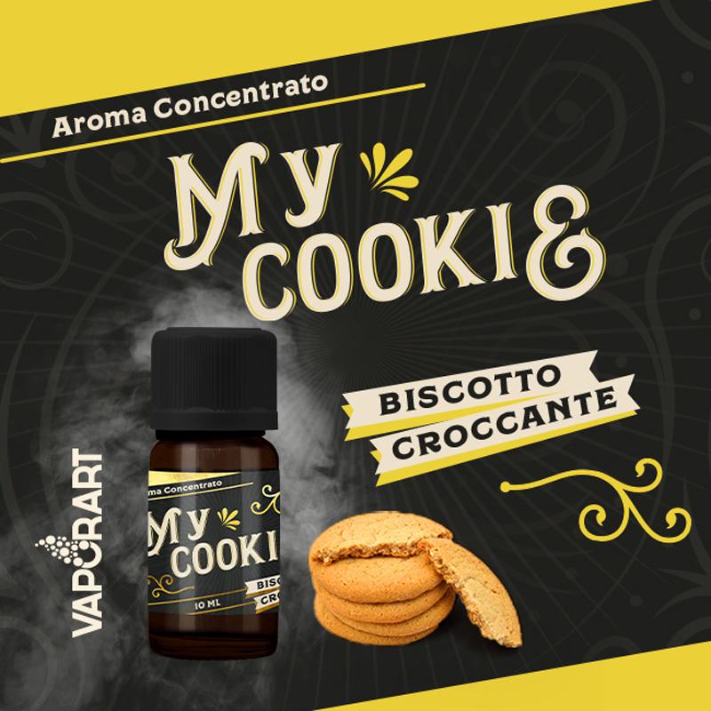 Vaporart Aroma Concentrato My Cookie 10ml Liquido per Sigaretta Elettronica