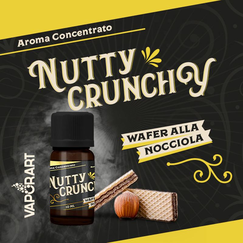 Vaporart Aroma Concentrato Nutty Crunchy 10ml Liquido per Sigaretta Elettronica