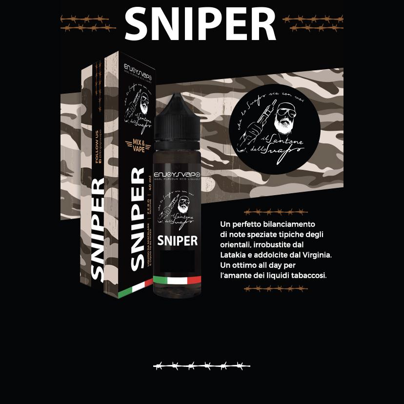 Il Santone Dello Svapo Sniper Aroma 20 ml Liquido per Sigaretta Elettronica