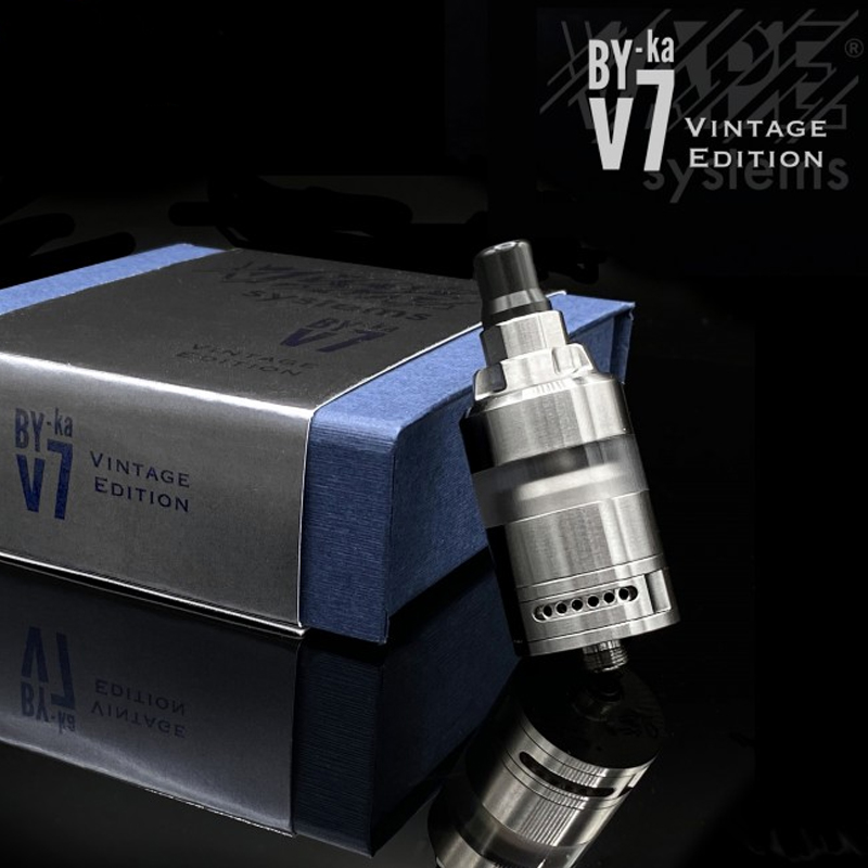 Vape Systems By Ka V7 Vintage Edition Atomizzatore per Sigaretta Elettronica