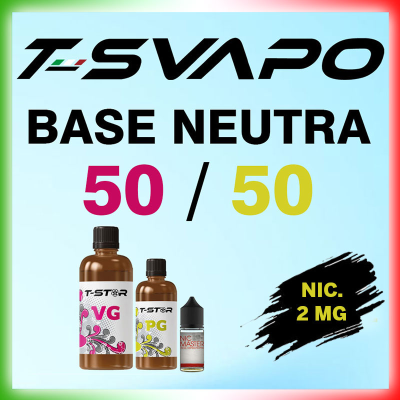 T-Star Base 50/50 Nicotina 2mg 90 ml