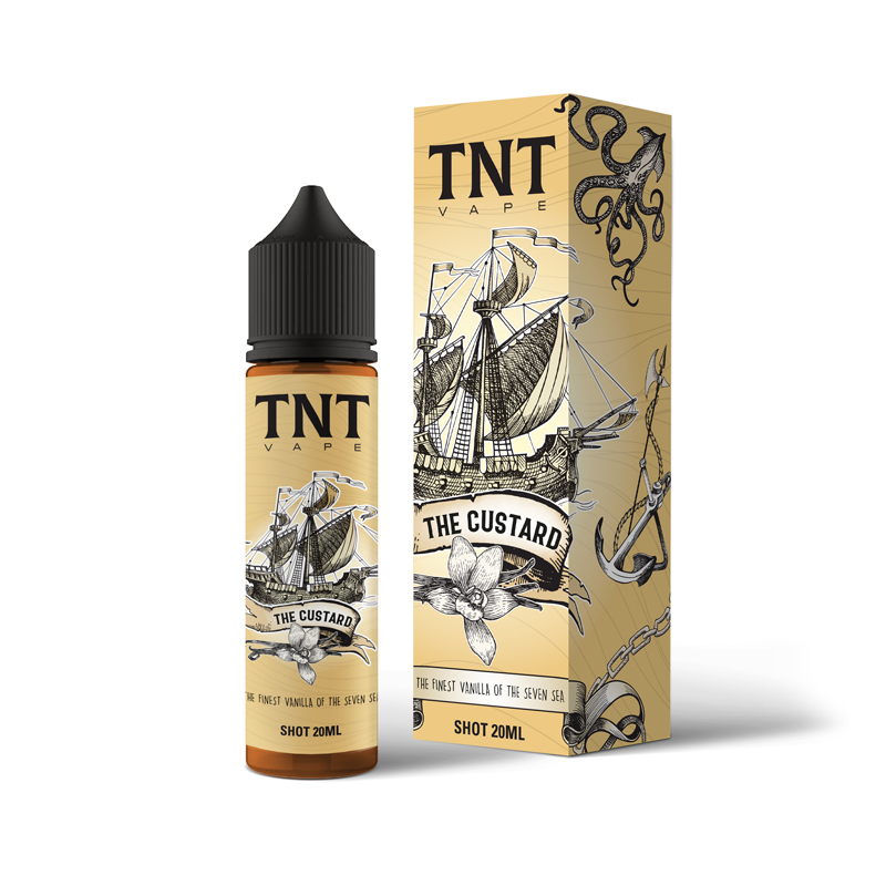 TNT Vape The Custard Aroma 20 ml per Sigaretta Elettronica