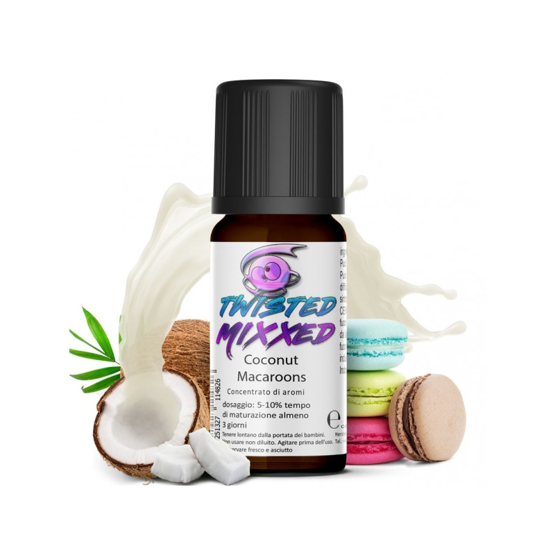 Twisted Coconut Macaroons Aroma 10ml