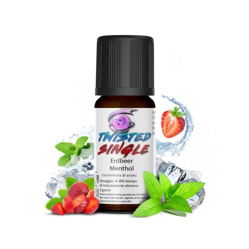 Twisted Erdbeer Menthol Aroma 10ml