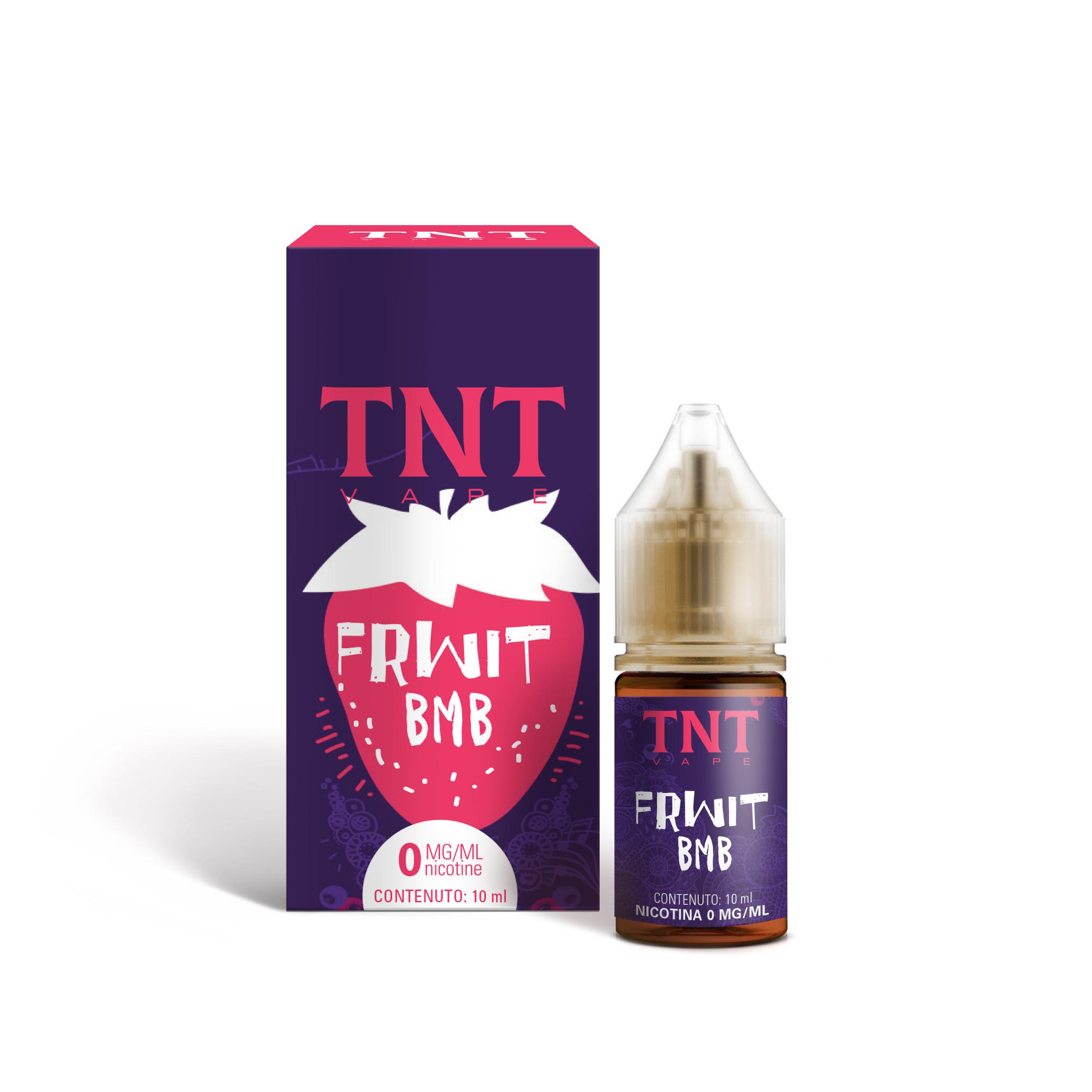TNT Vape Frwit Bmb 10 ml Liquido Pronto Nicotina