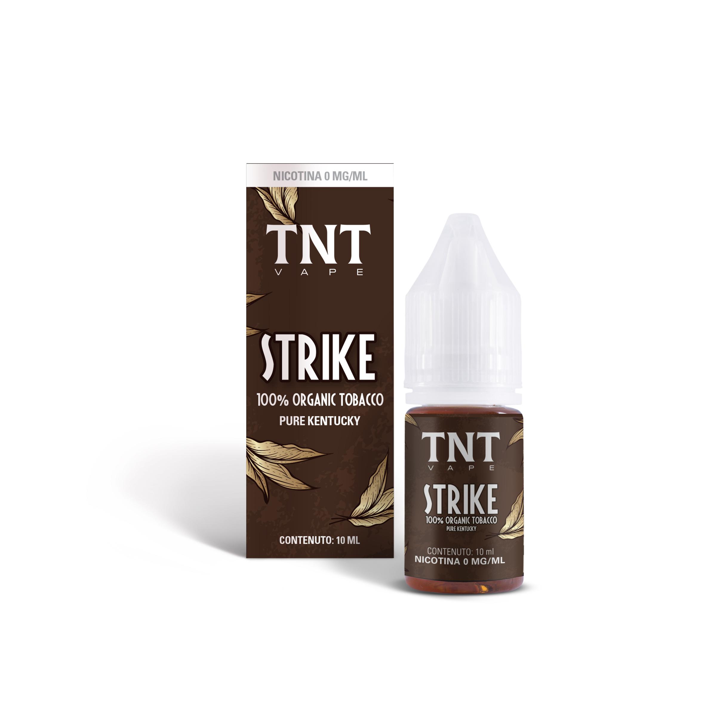 TNT Vape Strike 10 ml Liquido Pronto Nicotina
