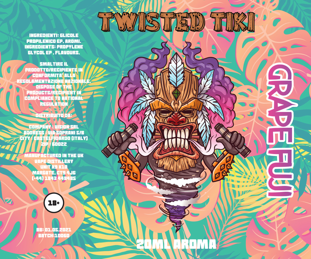 Twisted Tiki Grape Fuji Aroma 20 ml