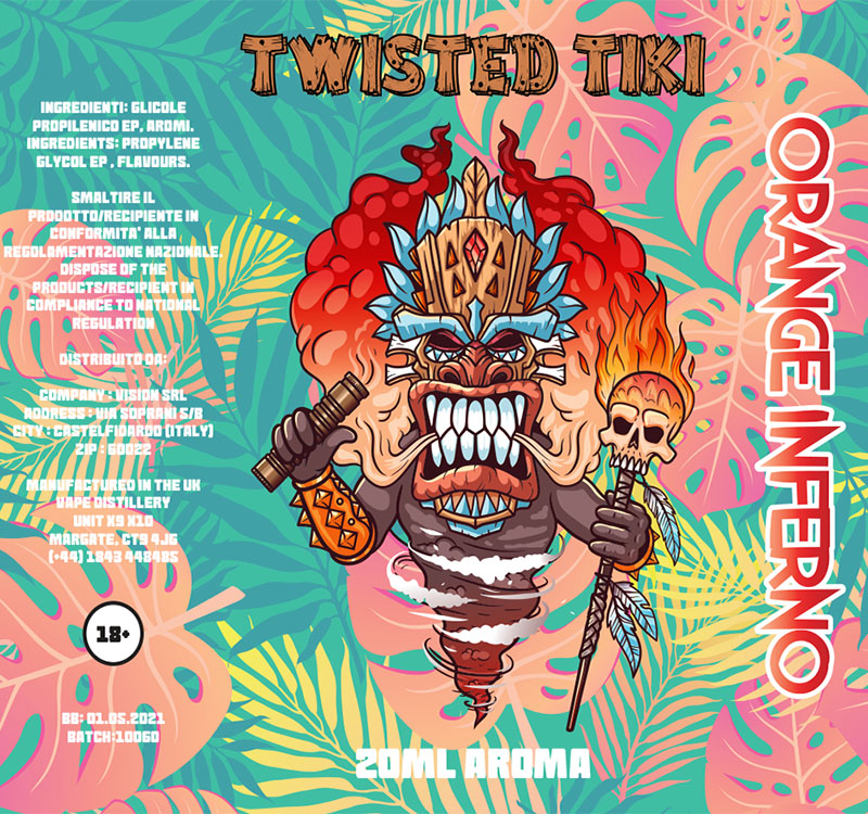 Twisted Tiki Orange Inferno Aroma 20 ml