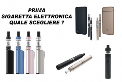 FIRST ELECTRONIC CIGARETTE WHICH TO CHOOSE?