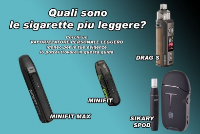 WHICH ARE THE LIGHTER CIGARETTES?