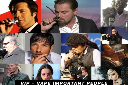 Vaping Actors and VIP