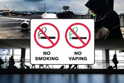 Can Electronic Cigarette be vaped on the plane or at airports?