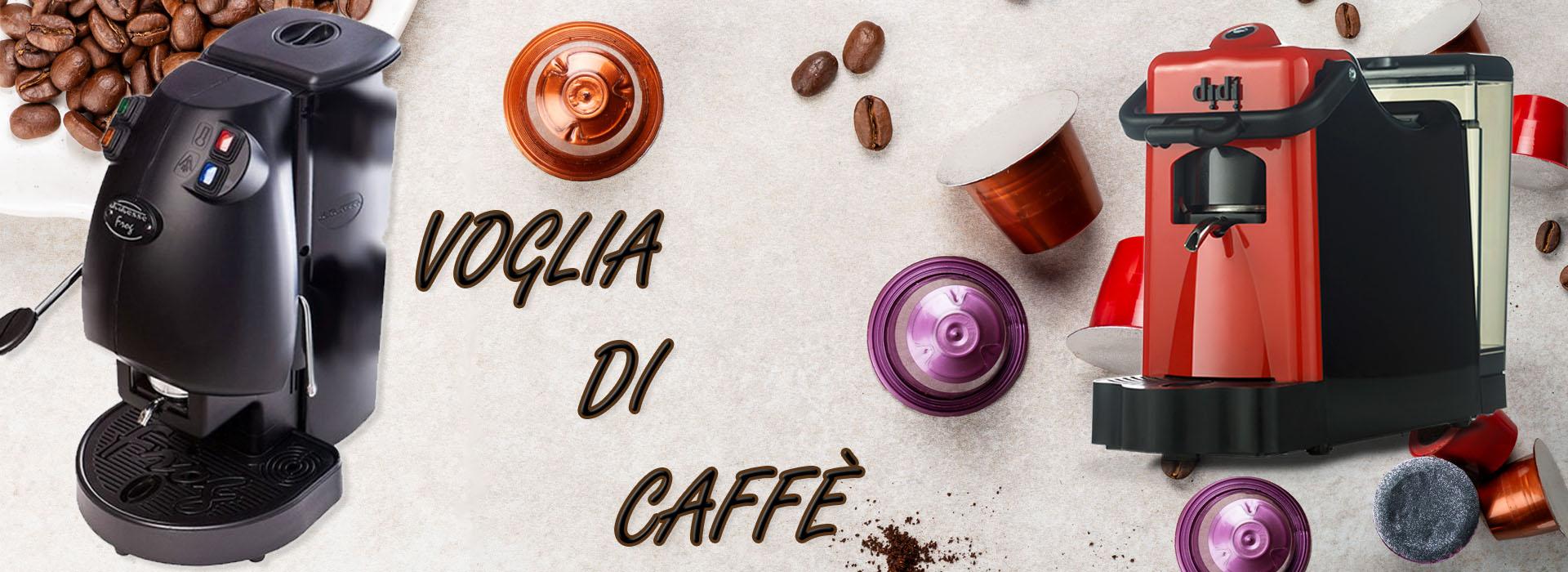 CAPSULE CIALDE MACCHINA CAFFÈ